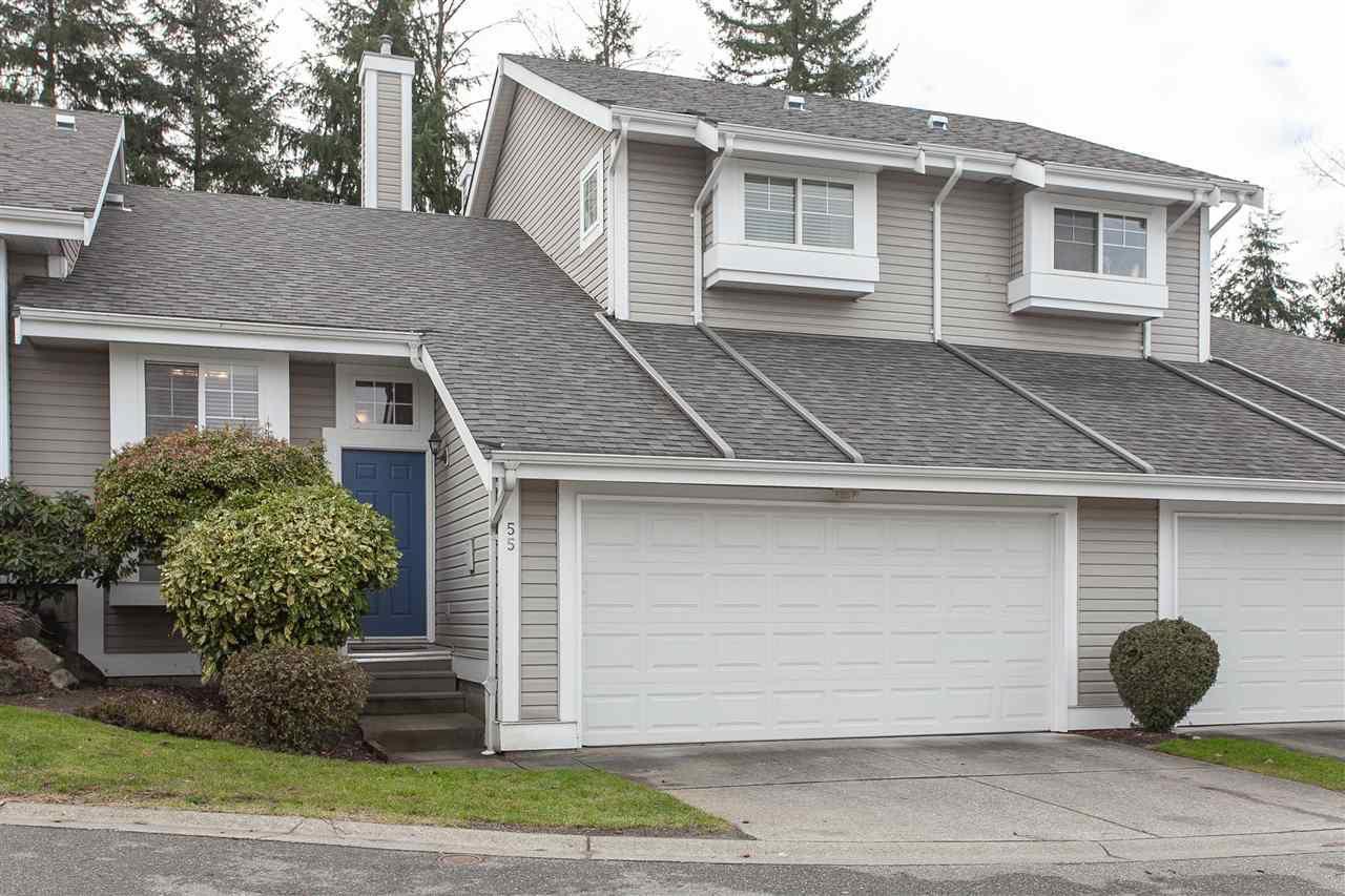 "Main Photo: 55 20788 87 Avenue in Langley: Walnut Grove Townhouse for sale in ""Kensington Village"" : MLS®# R2334392"
