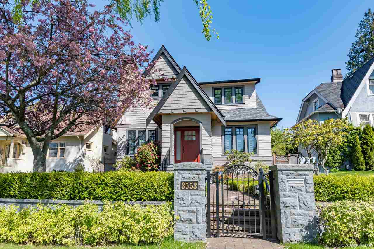 Main Photo: 3553 W 31ST Avenue in Vancouver: Dunbar House for sale (Vancouver West)  : MLS®# R2363427
