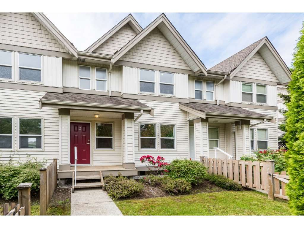 """Main Photo: 2 1260 RIVERSIDE Drive in Port Coquitlam: Riverwood Townhouse for sale in """"NORTHVIEW PLACE"""" : MLS®# R2377236"""