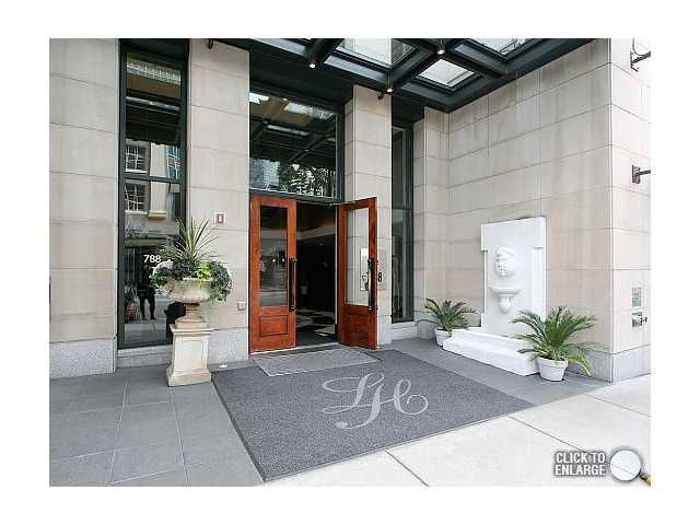 Main Photo: # 1406 788 RICHARDS ST in Vancouver: Downtown VW Condo for sale (Vancouver West)  : MLS®# V850357