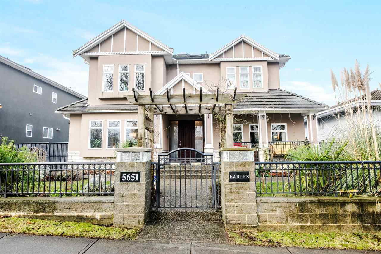 """Main Photo: 5651 EARLES Street in Vancouver: Collingwood VE House for sale in """"Colingwood"""" (Vancouver East)  : MLS®# R2023903"""
