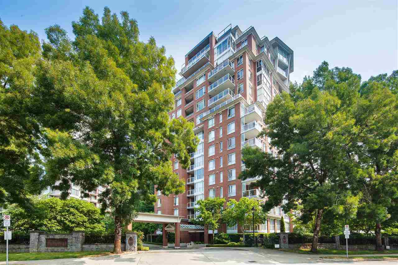"Main Photo: 701 5615 HAMPTON Place in Vancouver: University VW Condo for sale in ""The Balmoral at Hampton"" (Vancouver West)  : MLS®# R2195977"