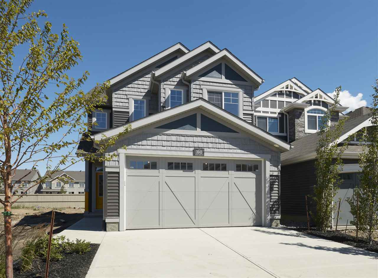 Main Photo: 4910 HAWTHORN Place in Edmonton: Zone 53 Attached Home for sale : MLS®# E4133284