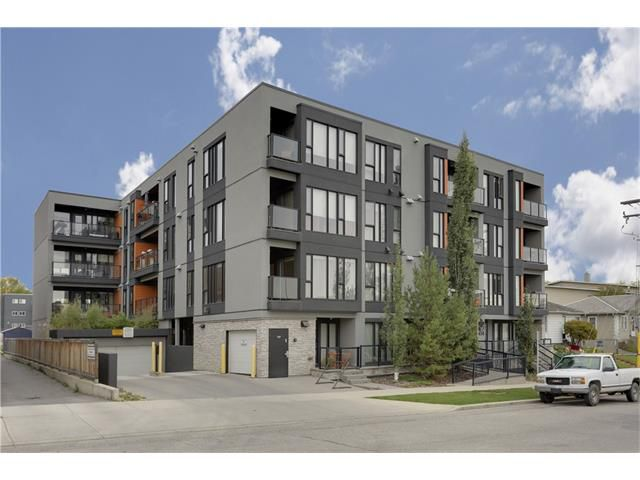 Main Photo: 202 414 MEREDITH Road NE in Calgary: Crescent Heights Condo for sale : MLS®# C4031332