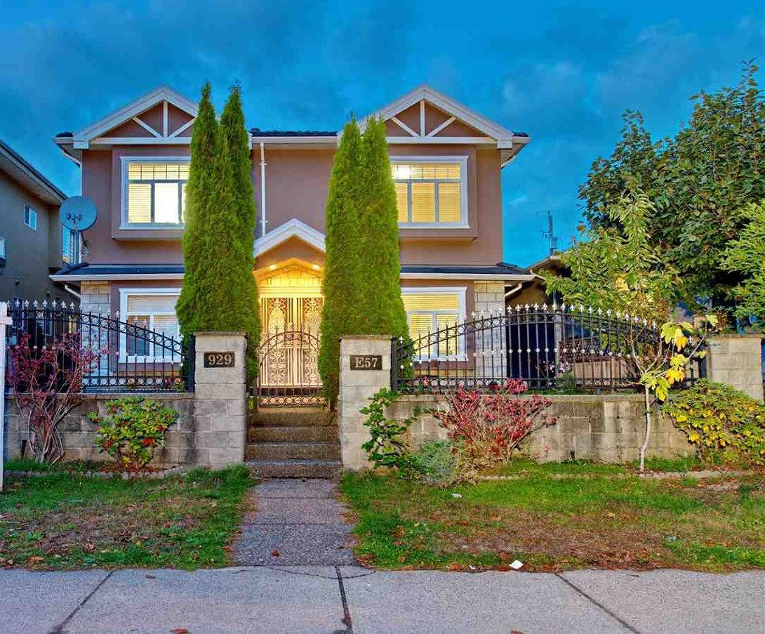 Main Photo: 929 E 57TH Avenue in Vancouver: South Vancouver House for sale (Vancouver East)  : MLS®# R2223849