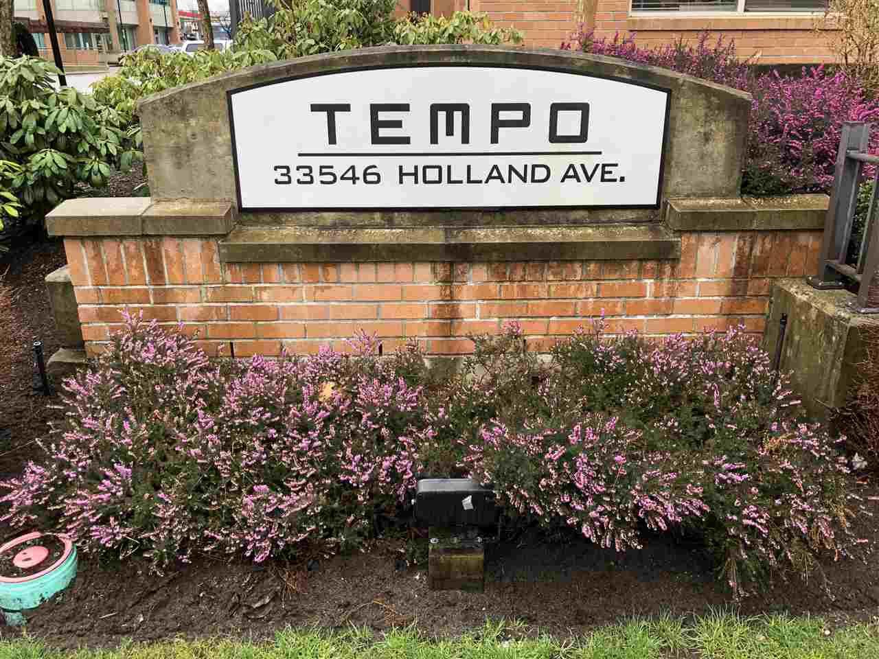 """Main Photo: 115 33546 HOLLAND Avenue in Abbotsford: Central Abbotsford Condo for sale in """"Tempo"""" : MLS®# R2250036"""
