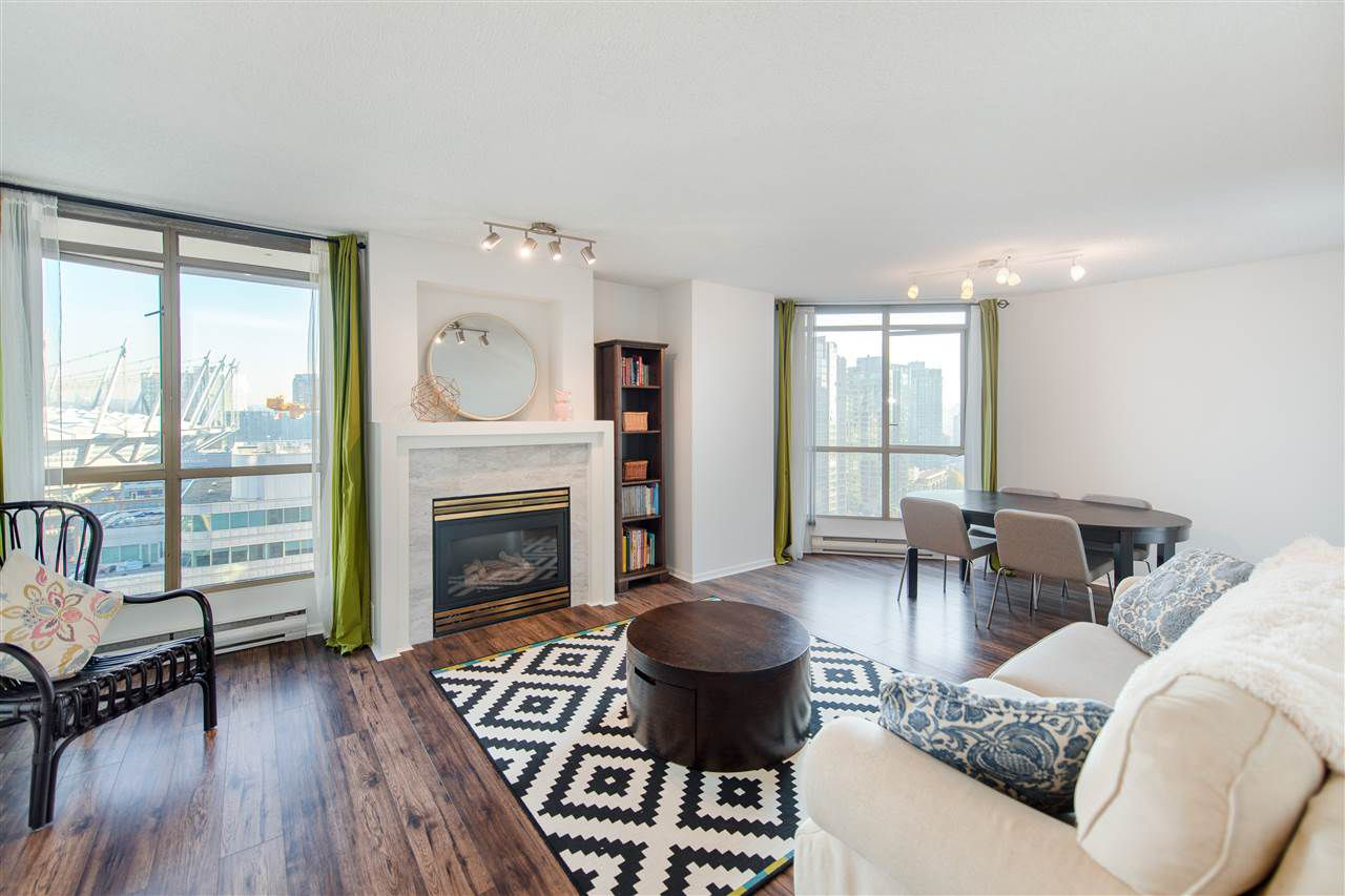 "Main Photo: 1903 867 HAMILTON Street in Vancouver: Downtown VW Condo for sale in ""Jardine's Lookout"" (Vancouver West)  : MLS®# R2331796"