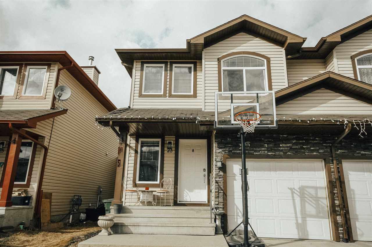 Main Photo: 23 Meridian Loop: Stony Plain House Half Duplex for sale : MLS®# E4150048