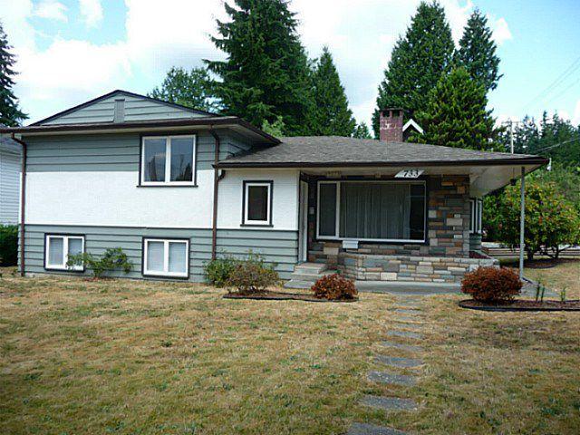 "Main Photo: 733 ACCACIA Avenue in Coquitlam: Coquitlam West House for sale in ""COQUITLAM WEST"" : MLS®# V1134788"