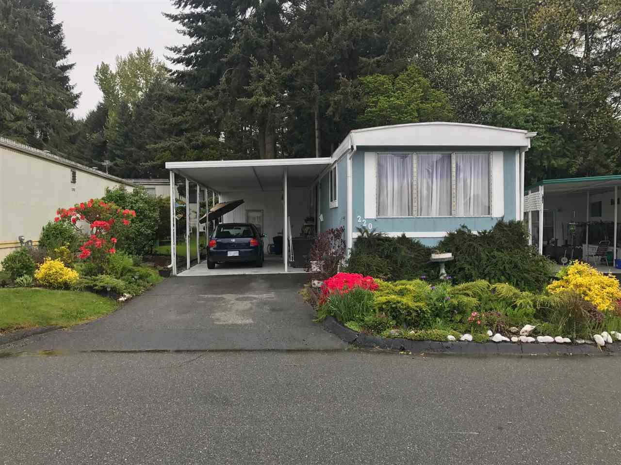 """Main Photo: 220 1840 160 Street in Surrey: King George Corridor Manufactured Home for sale in """"BREAKAWAY BAYS"""" (South Surrey White Rock)  : MLS®# R2163646"""