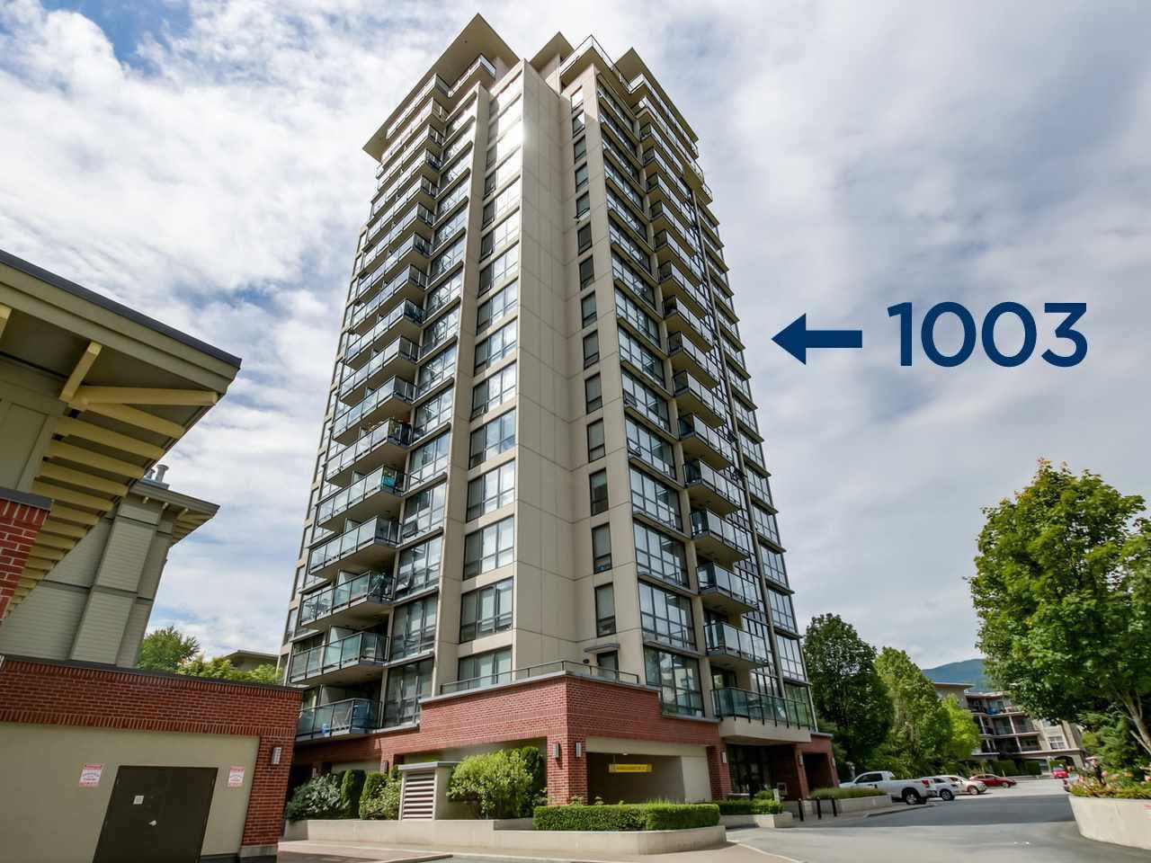 "Main Photo: 1003 2959 GLEN Drive in Coquitlam: North Coquitlam Condo for sale in ""THE PARC"" : MLS®# R2247739"