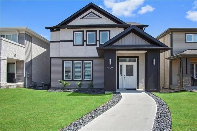 Main Photo: 252 Brookfield Crescent in Winnipeg: Bridgwater Lakes Residential for sale (1R)  : MLS®# 1812464