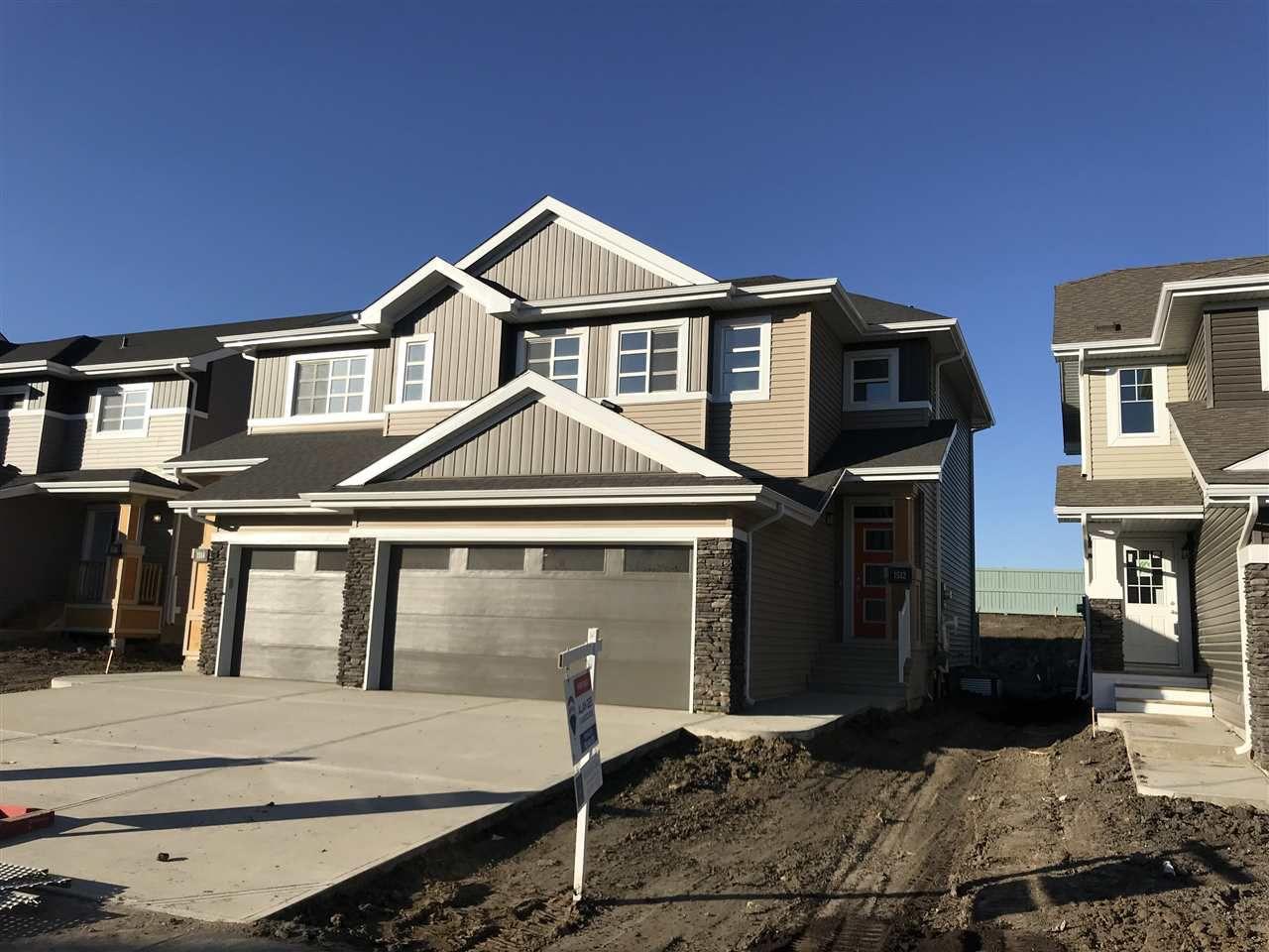 Main Photo: 1512 169 Street in Edmonton: Zone 56 House Half Duplex for sale : MLS®# E4137361