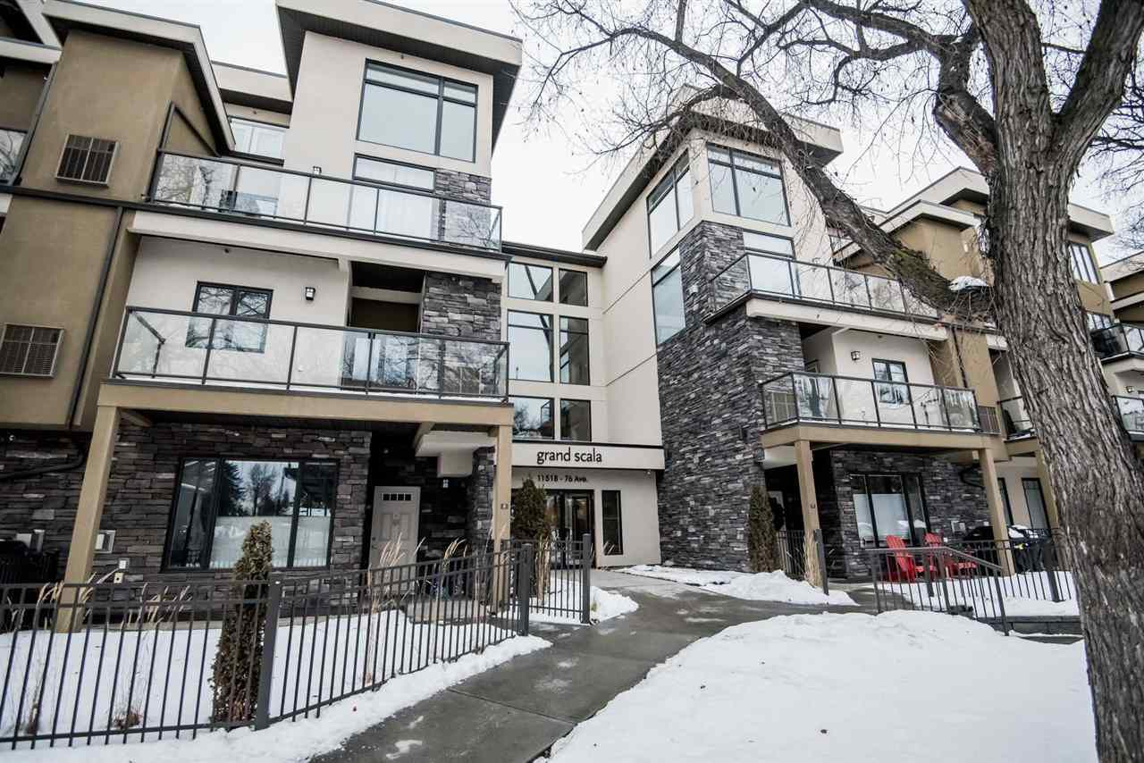 Main Photo: 23 11518 76 Avenue in Edmonton: Zone 15 Condo for sale : MLS®# E4138298