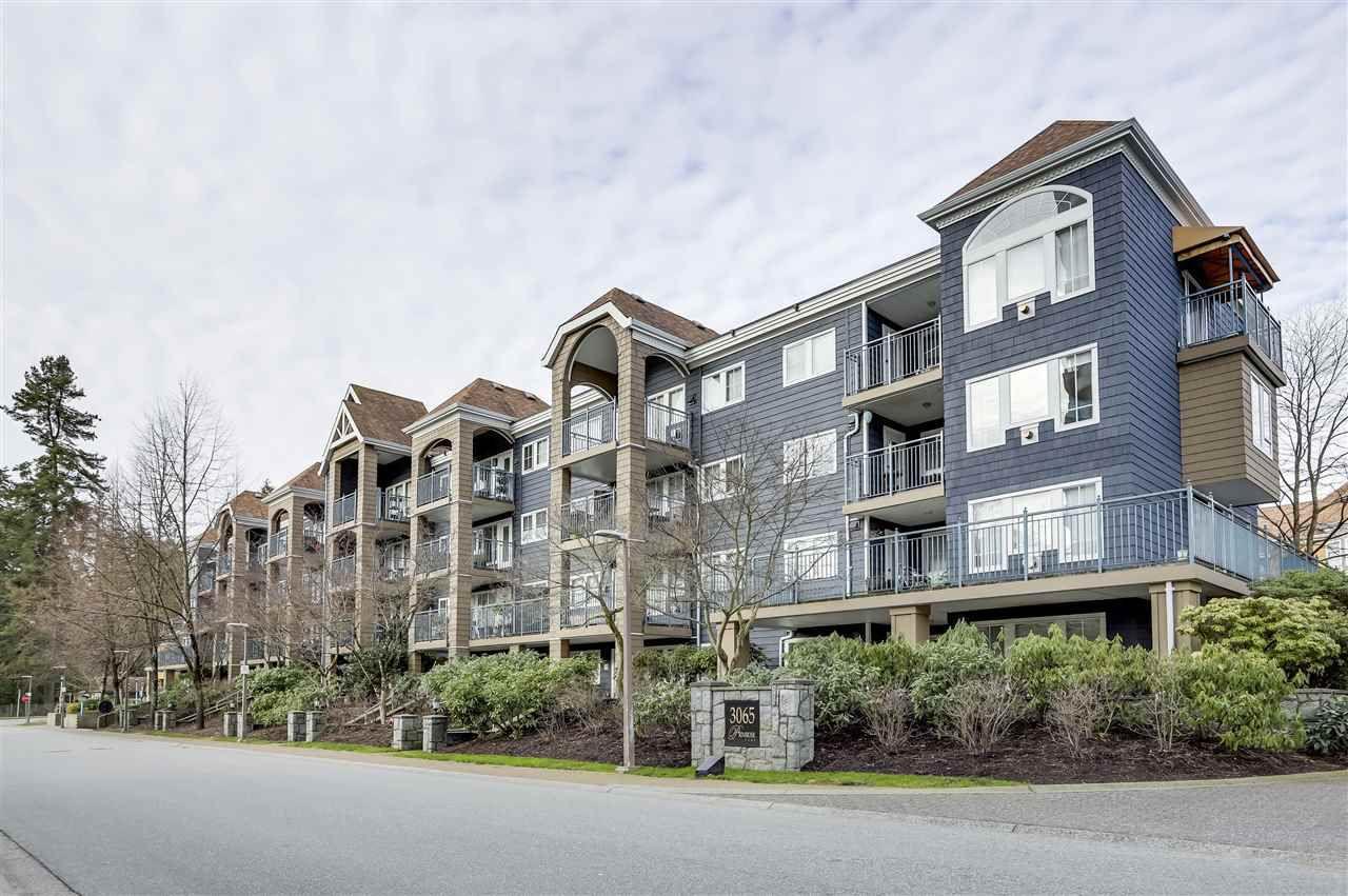 "Main Photo: 307 3065 PRIMROSE Lane in Coquitlam: North Coquitlam Condo for sale in ""Lakeside Terrace"" : MLS®# R2336401"
