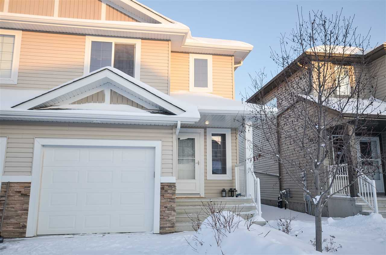 Main Photo: 16811 53 Street in Edmonton: Zone 03 House Half Duplex for sale : MLS®# E4142986