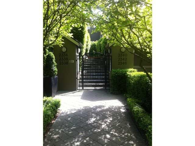 Main Photo: 2338 W 6TH Avenue in Vancouver: Kitsilano Condo for sale (Vancouver West)  : MLS®# V955629