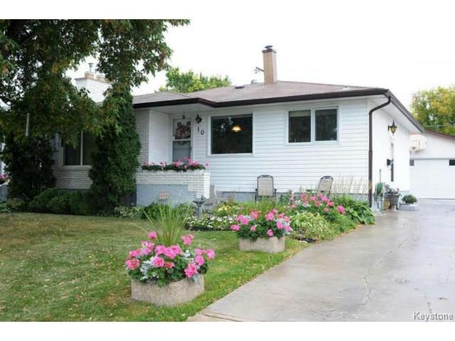 Main Photo: 10 Alcott Street in WINNIPEG: Westwood / Crestview Residential for sale (West Winnipeg)  : MLS®# 1321216