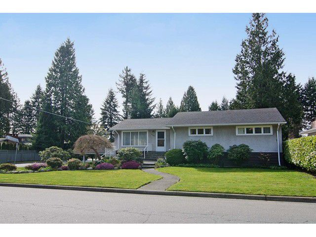 Main Photo: 2705 EDGEMONT Boulevard in North Vancouver: Edgemont House for sale : MLS®# V1112253