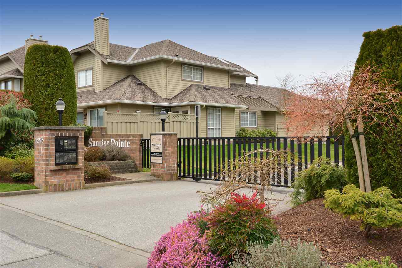 """Main Photo: 164 16275 15 Avenue in Surrey: King George Corridor Townhouse for sale in """"Sunrise Pointe"""" (South Surrey White Rock)  : MLS®# R2039235"""