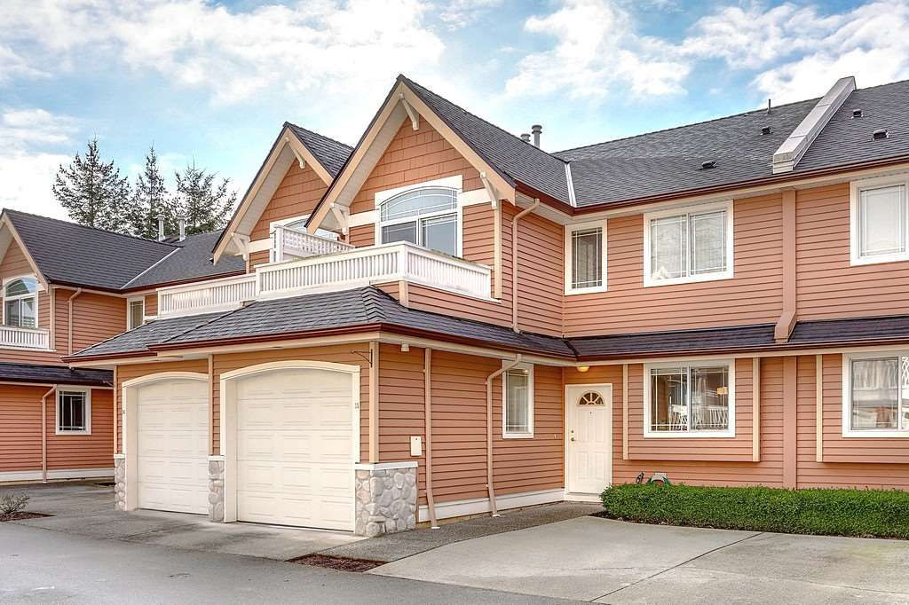 """Main Photo: 35 1506 EAGLE MOUNTAIN Drive in Coquitlam: Westwood Plateau Townhouse for sale in """"RIVER ROCK BEND"""" : MLS®# R2133561"""
