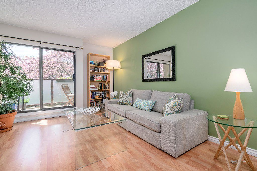 "Main Photo: 213 2150 BRUNSWICK Street in Vancouver: Mount Pleasant VE Condo for sale in ""MT PLEASANT PLACE"" (Vancouver East)  : MLS®# R2161817"