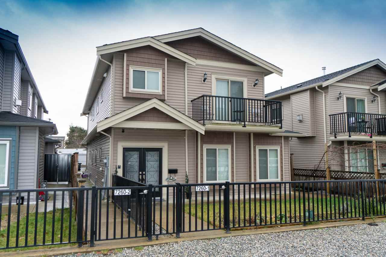 Main Photo: 2 7260 11TH Avenue in Burnaby: Edmonds BE House 1/2 Duplex for sale (Burnaby East)  : MLS®# R2349812