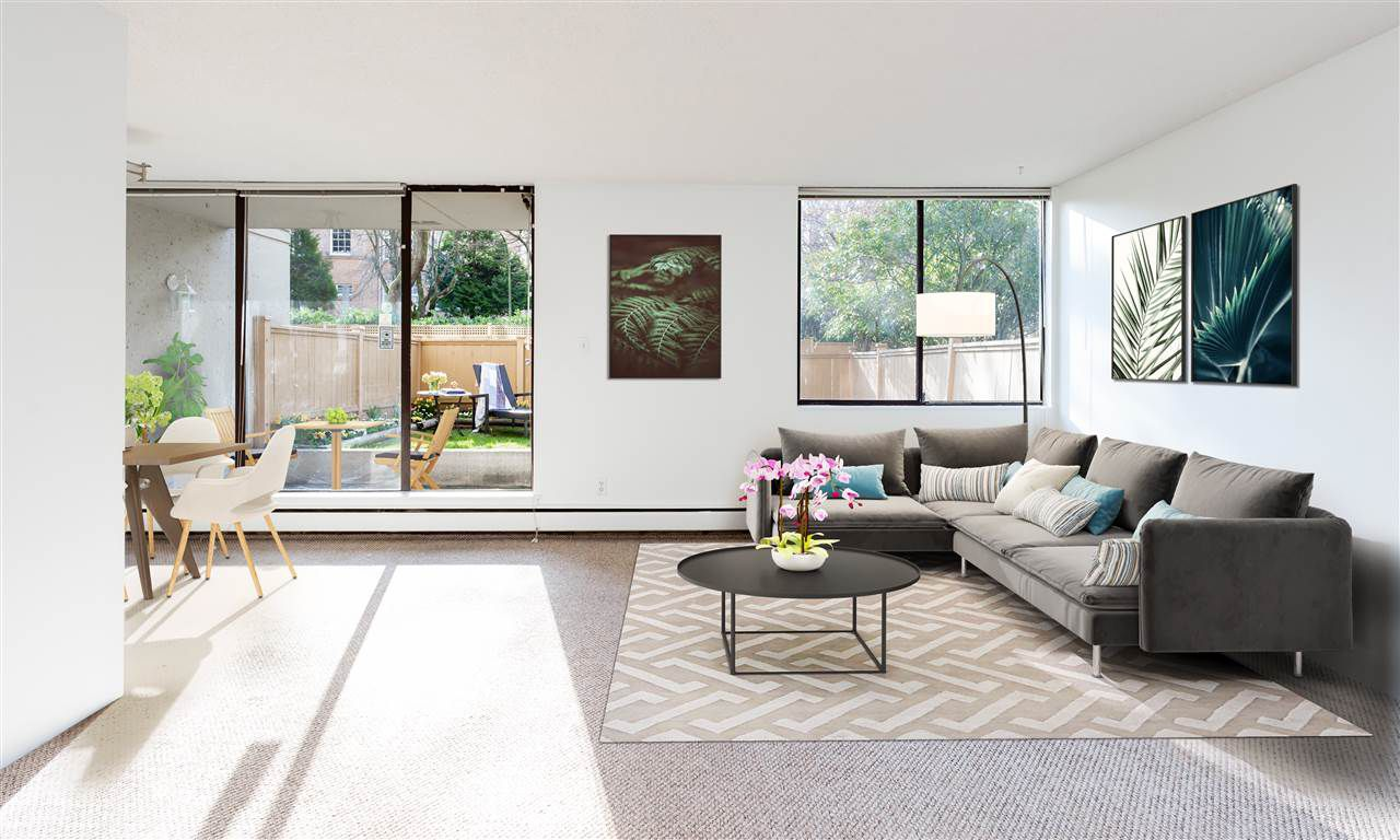 Living Room-Virtual Staging