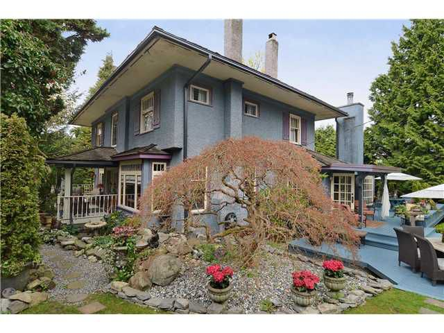 Main Photo: 1837 W 19TH Avenue in Vancouver: Shaughnessy House for sale (Vancouver West)  : MLS®# V998320