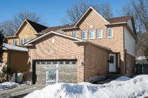Main Photo: 77 Fulton Crest in Whitby: Williamsburg House (2-Storey) for sale : MLS®# E2844082