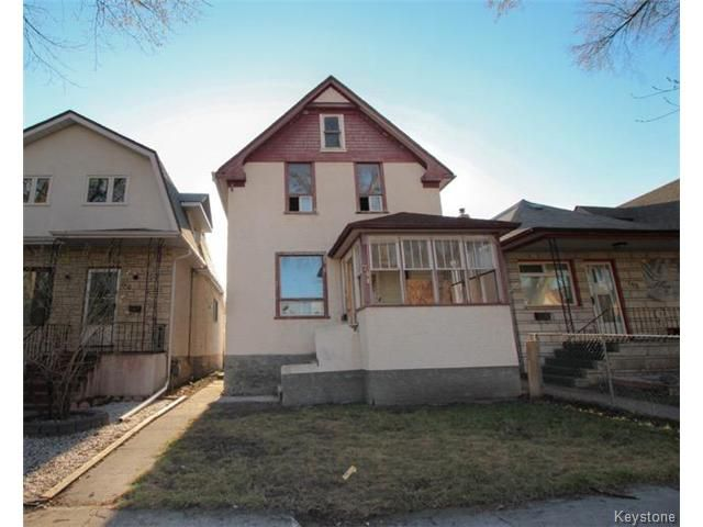 Main Photo: 744 Home Street in WINNIPEG: West End / Wolseley Residential for sale (West Winnipeg)  : MLS®# 1510991