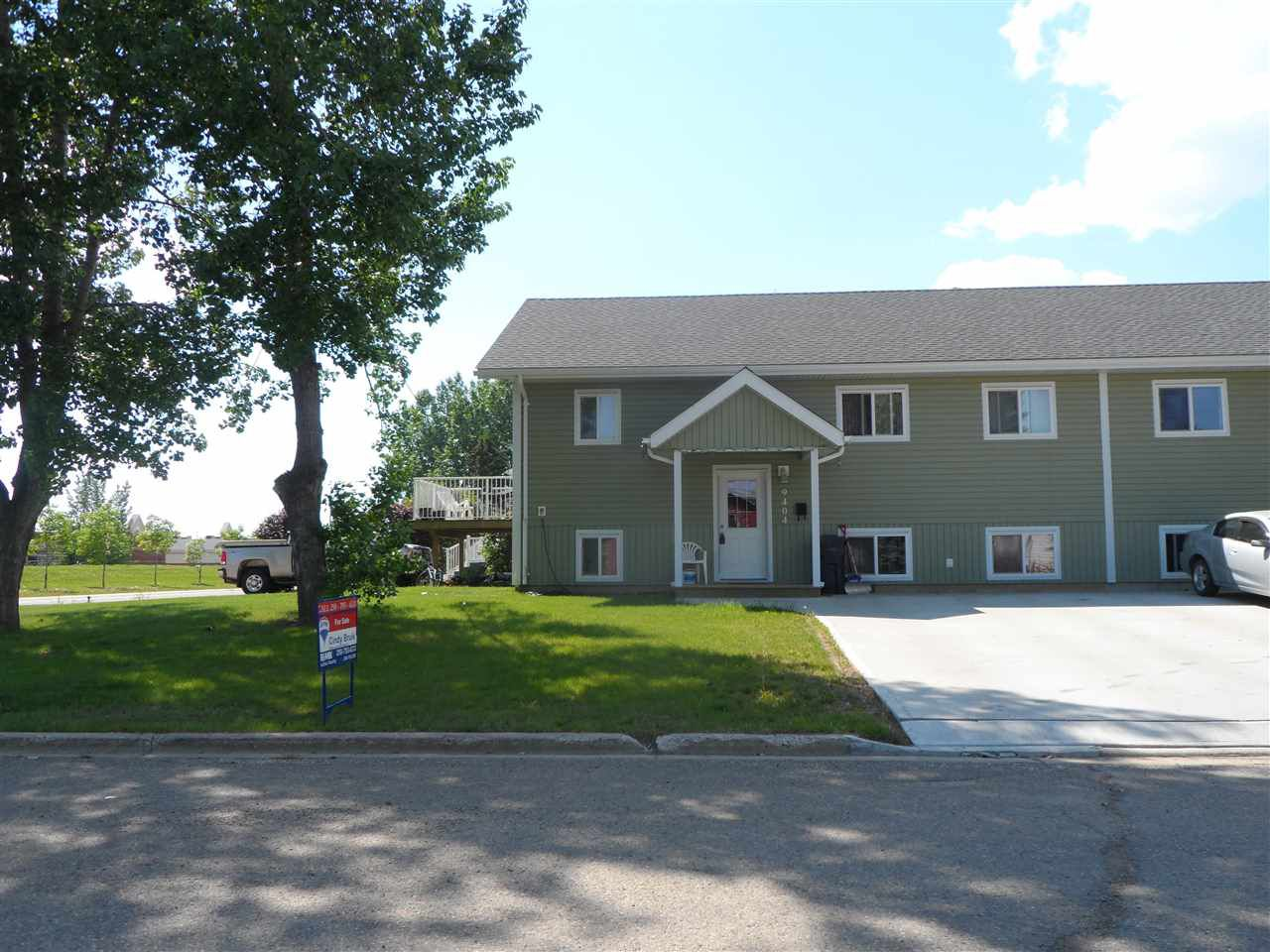 Main Photo: 9404 94A Street in Fort St. John: Fort St. John - City SE House 1/2 Duplex for sale (Fort St. John (Zone 60))  : MLS®# R2014844