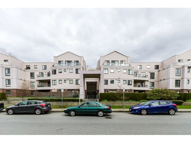 "Main Photo: 212 2357 WHYTE Avenue in Port Coquitlam: Central Pt Coquitlam Condo for sale in ""RIVERSIDE PLACE"" : MLS®# R2043083"