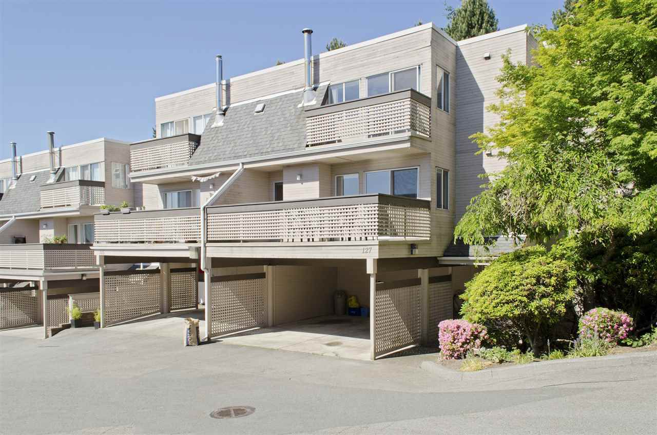 """Main Photo: 127 2721 ATLIN Place in Coquitlam: Coquitlam East Townhouse for sale in """"The Terraces of Riverview"""" : MLS®# R2067798"""
