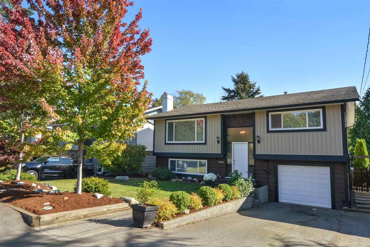 Main Photo: 1548 LEE Street: White Rock House for sale (South Surrey White Rock)  : MLS®# R2130325