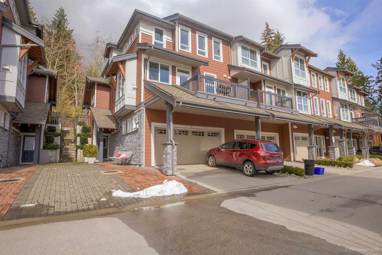 Main Photo: 17 3431 GALLOWAY Avenue in Coquitlam: Burke Mountain Townhouse for sale : MLS®# R2145732