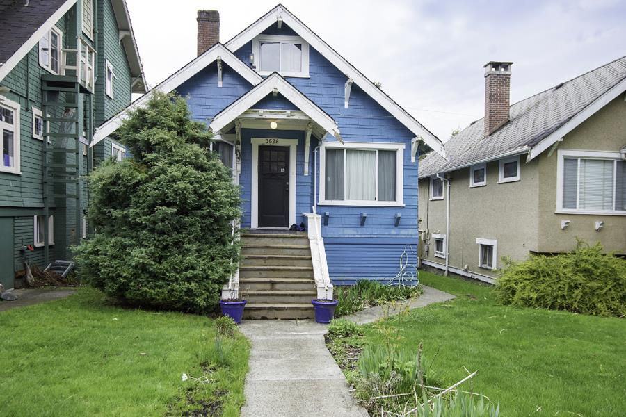 Main Photo: 3628 W 5TH Avenue in Vancouver: Kitsilano House for sale (Vancouver West)  : MLS®# R2156405