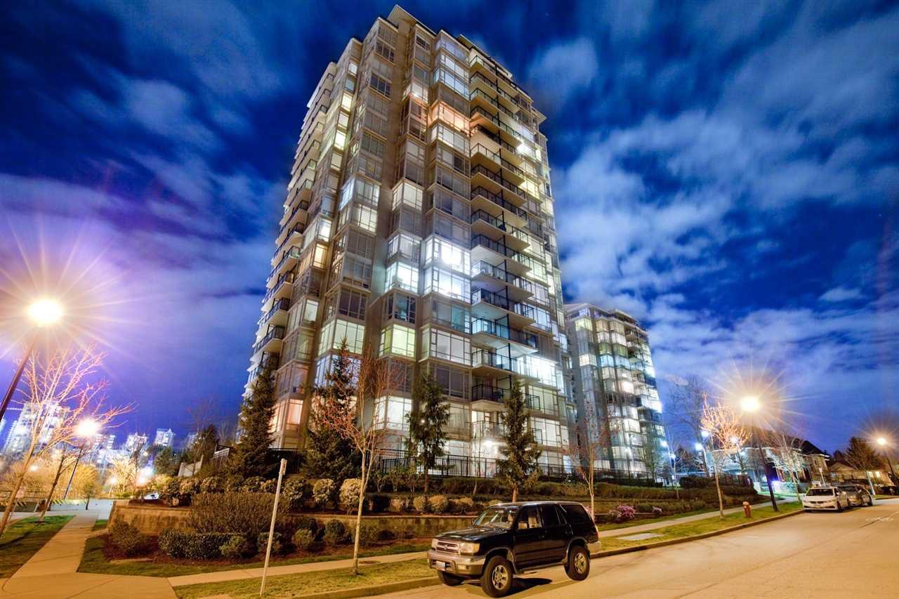"Main Photo: 709 555 DELESTRE Avenue in Coquitlam: Coquitlam West Condo for sale in ""CORA TOWERS"" : MLS®# R2253412"