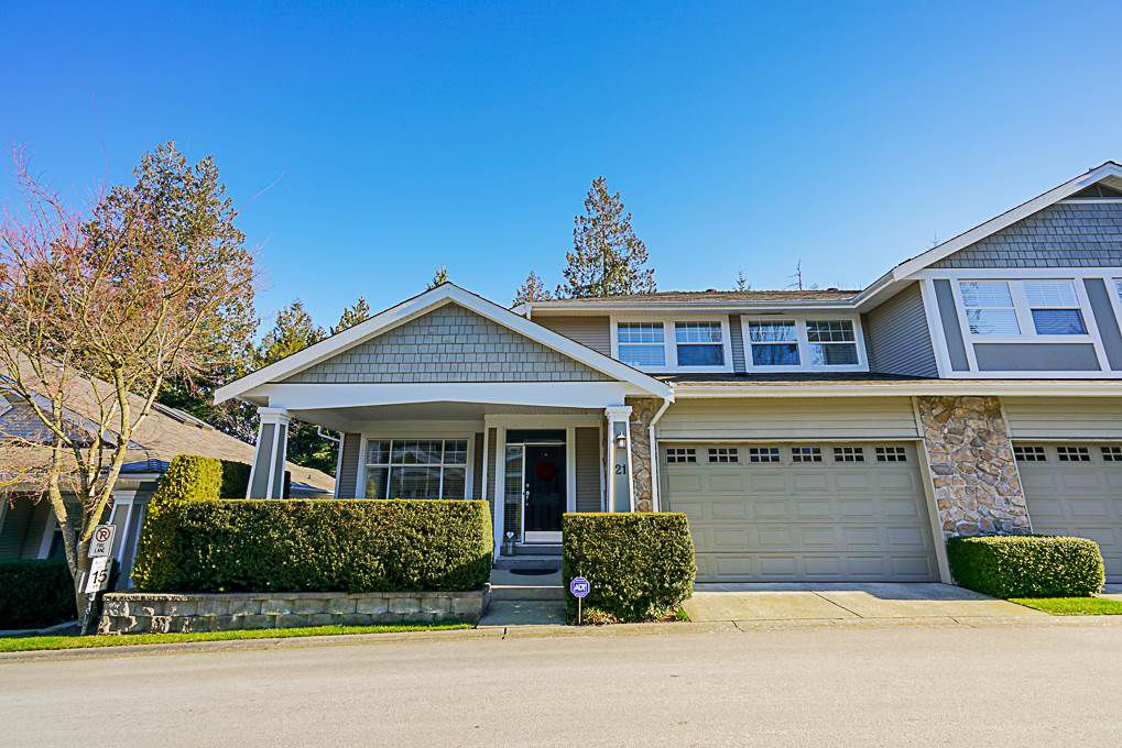 """Main Photo: 21 3500 144 Street in Surrey: Elgin Chantrell Townhouse for sale in """"Crescent I"""" (South Surrey White Rock)  : MLS®# R2339410"""