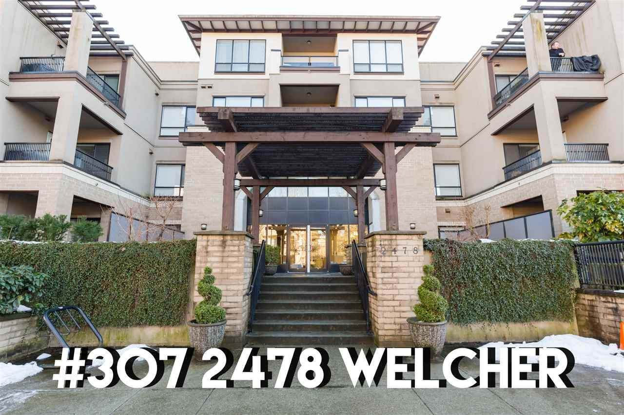 "Main Photo: 307 2478 WELCHER Avenue in Port Coquitlam: Central Pt Coquitlam Condo for sale in ""Harmony"" : MLS®# R2345281"