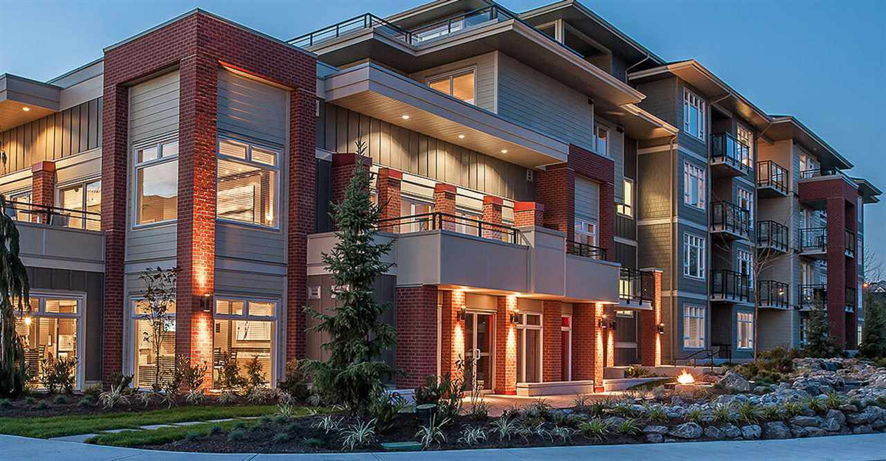 """Main Photo: A206 20211 66 Avenue in Langley: Willoughby Heights Condo for sale in """"ELEMENTS"""" : MLS®# R2373049"""