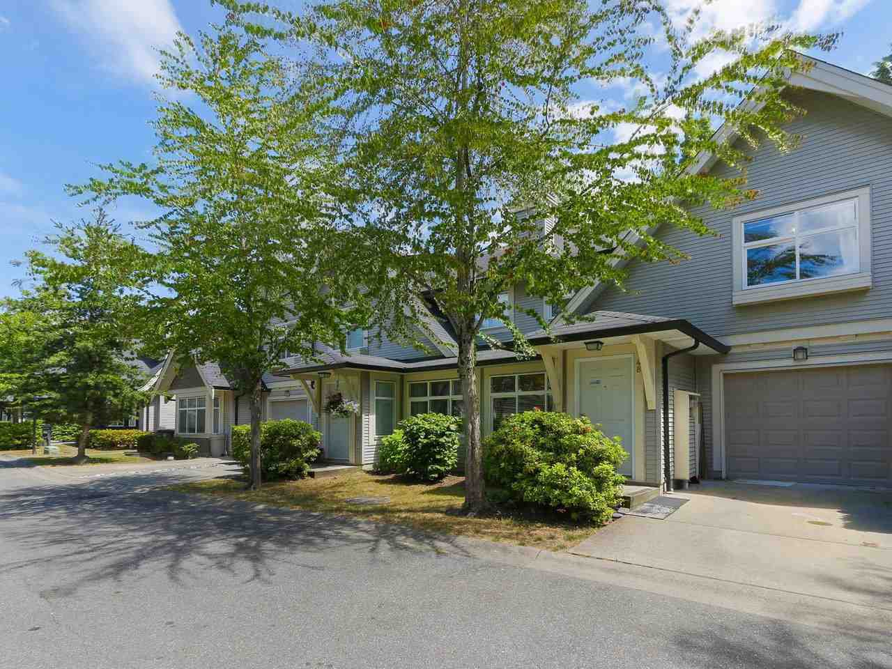 "Main Photo: 48 15968 82 Avenue in Surrey: Fleetwood Tynehead Townhouse for sale in ""SHERLBORNE LANE"" : MLS®# R2381033"