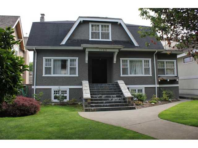 Main Photo: 1168 NANTON Avenue in Vancouver: Shaughnessy House for sale (Vancouver West)  : MLS®# V897257
