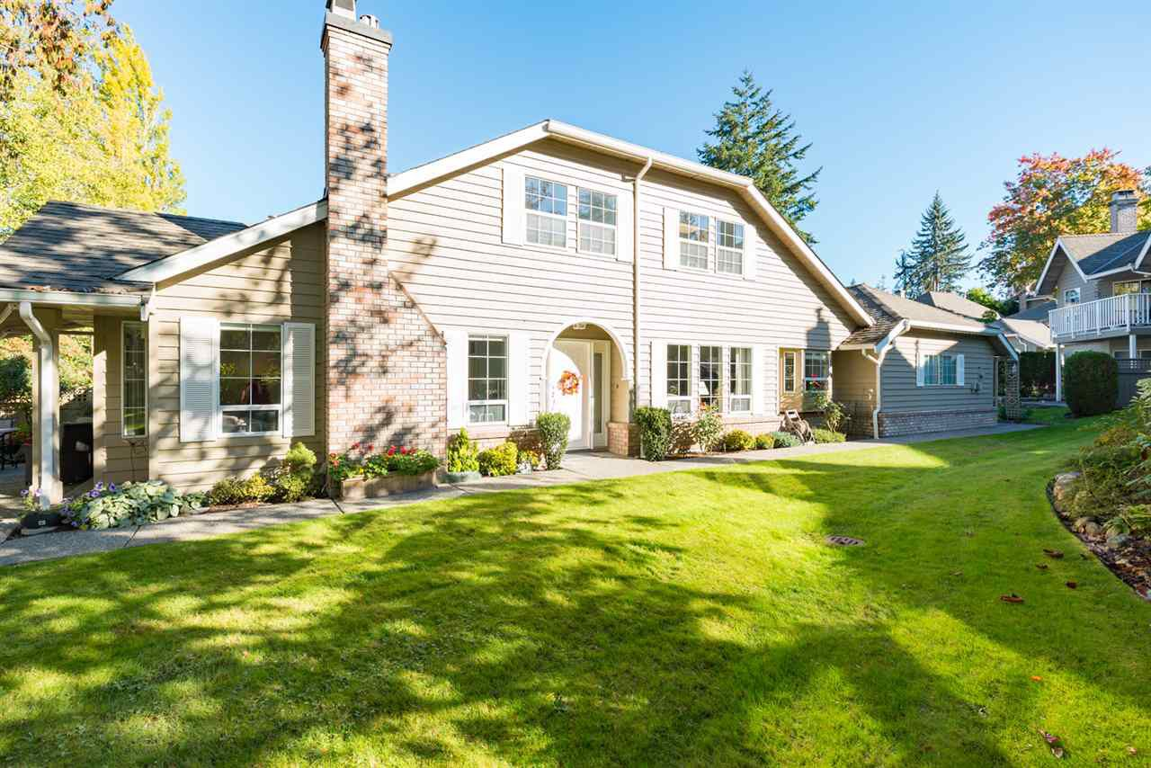 """Main Photo: 11 21848 50 Avenue in Langley: Murrayville Townhouse for sale in """"Cedar Crest Estates"""" : MLS®# R2115558"""
