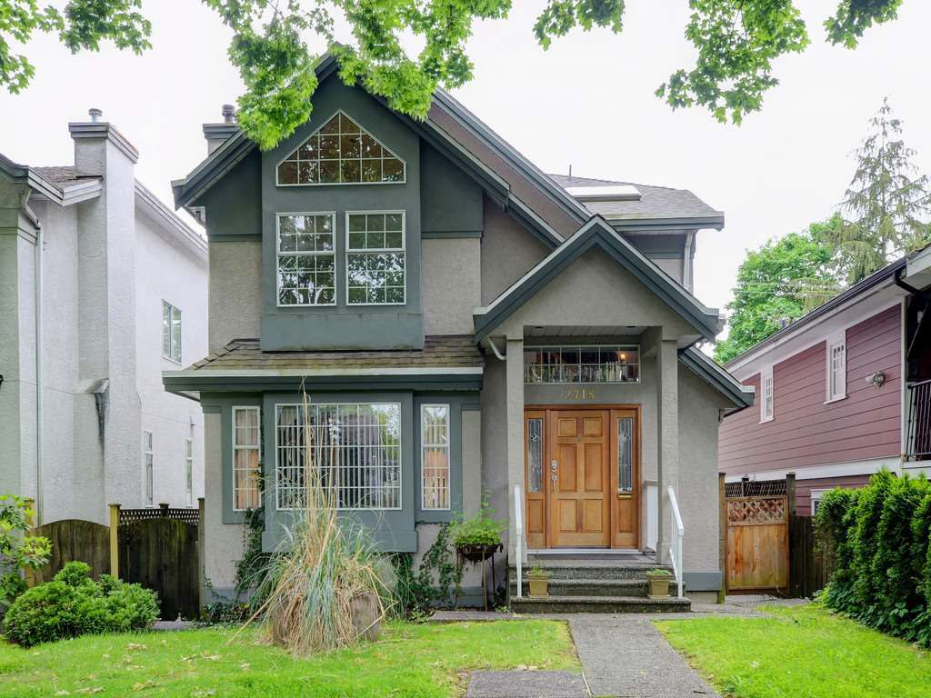 Main Photo: 2718 W 15TH AVENUE in Vancouver: Kitsilano House for sale (Vancouver West)  : MLS®# R2173526