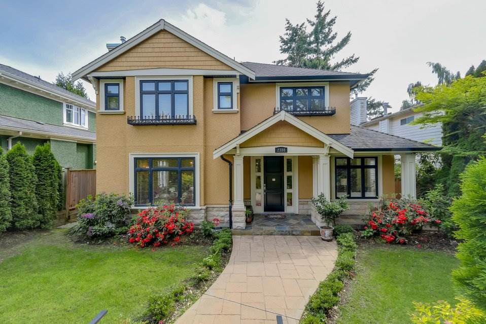 Main Photo: 2388 W 19TH Avenue in Vancouver: Arbutus House for sale (Vancouver West)  : MLS®# R2179073