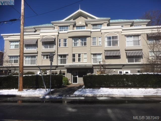 Main Photo: 301 1070 SOUTHGATE Street in VICTORIA: Vi Fairfield West Condo Apartment for sale (Victoria)  : MLS®# 387949
