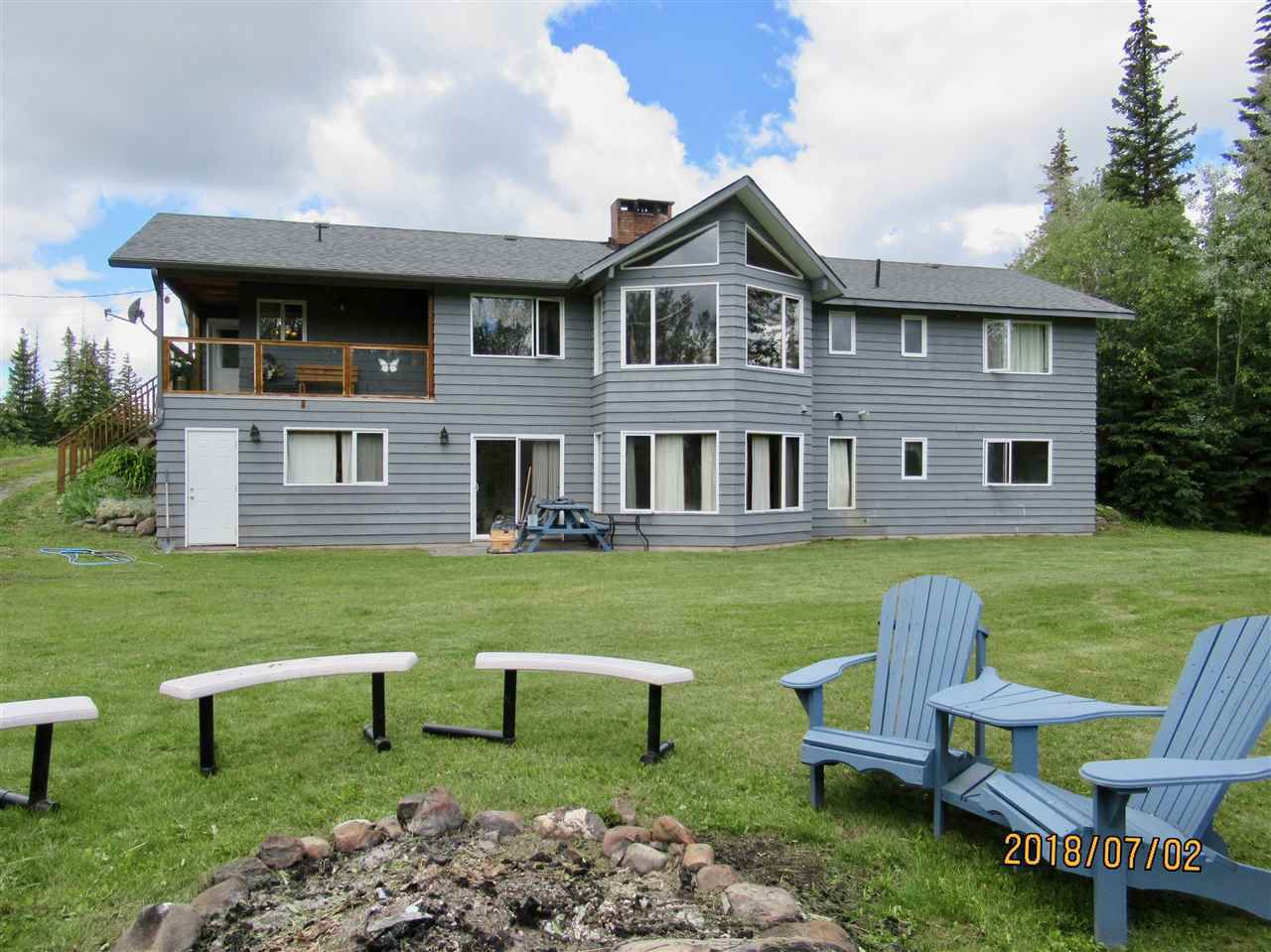 Main Photo: 3615 SPOKIN LAKE Road in Williams Lake: Williams Lake - Rural East House for sale (Williams Lake (Zone 27))  : MLS®# R2286081