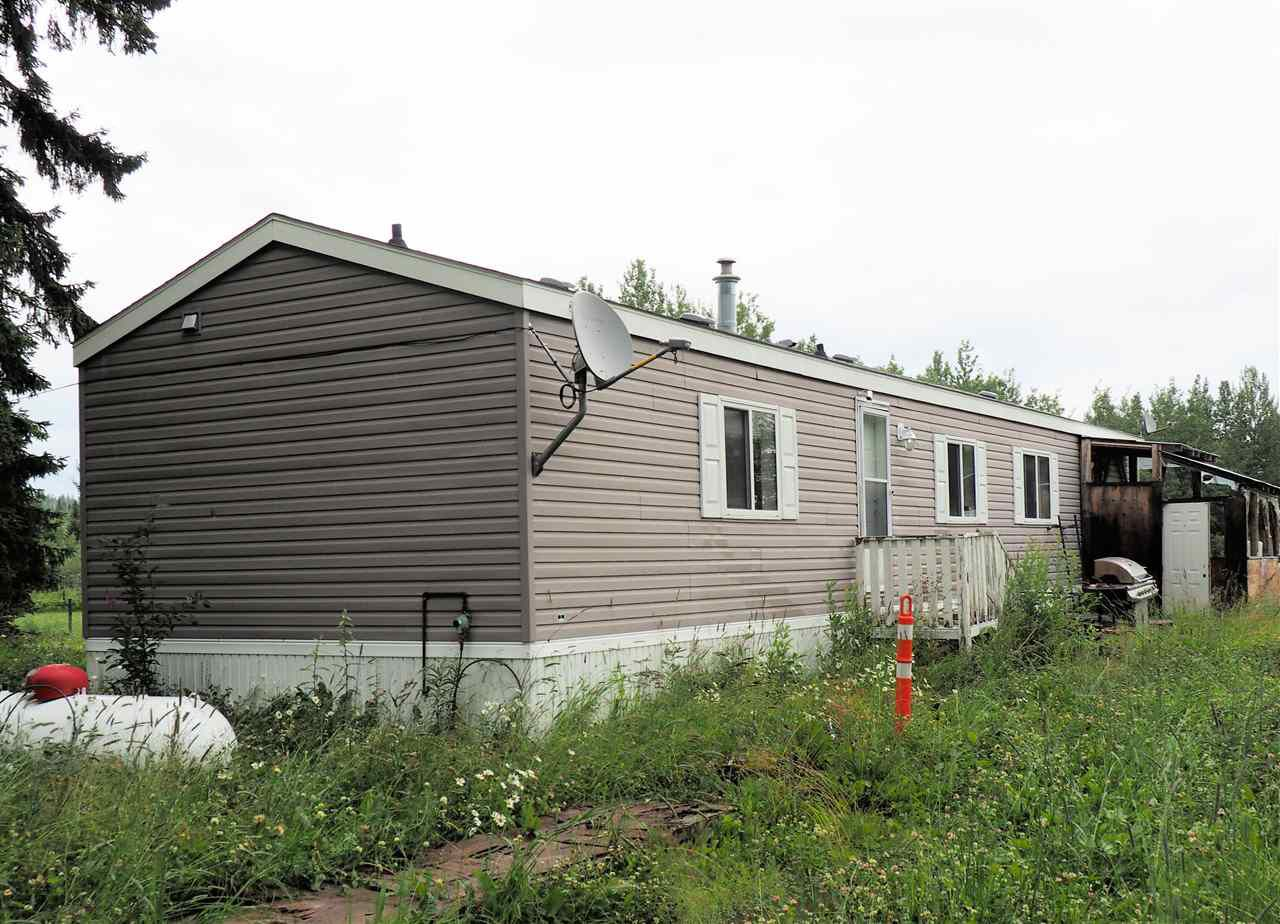 Main Photo: 17415 S MCBRIDE TIMBER Road in Prince George: Upper Mud Manufactured Home for sale (PG Rural West (Zone 77))  : MLS®# R2293028