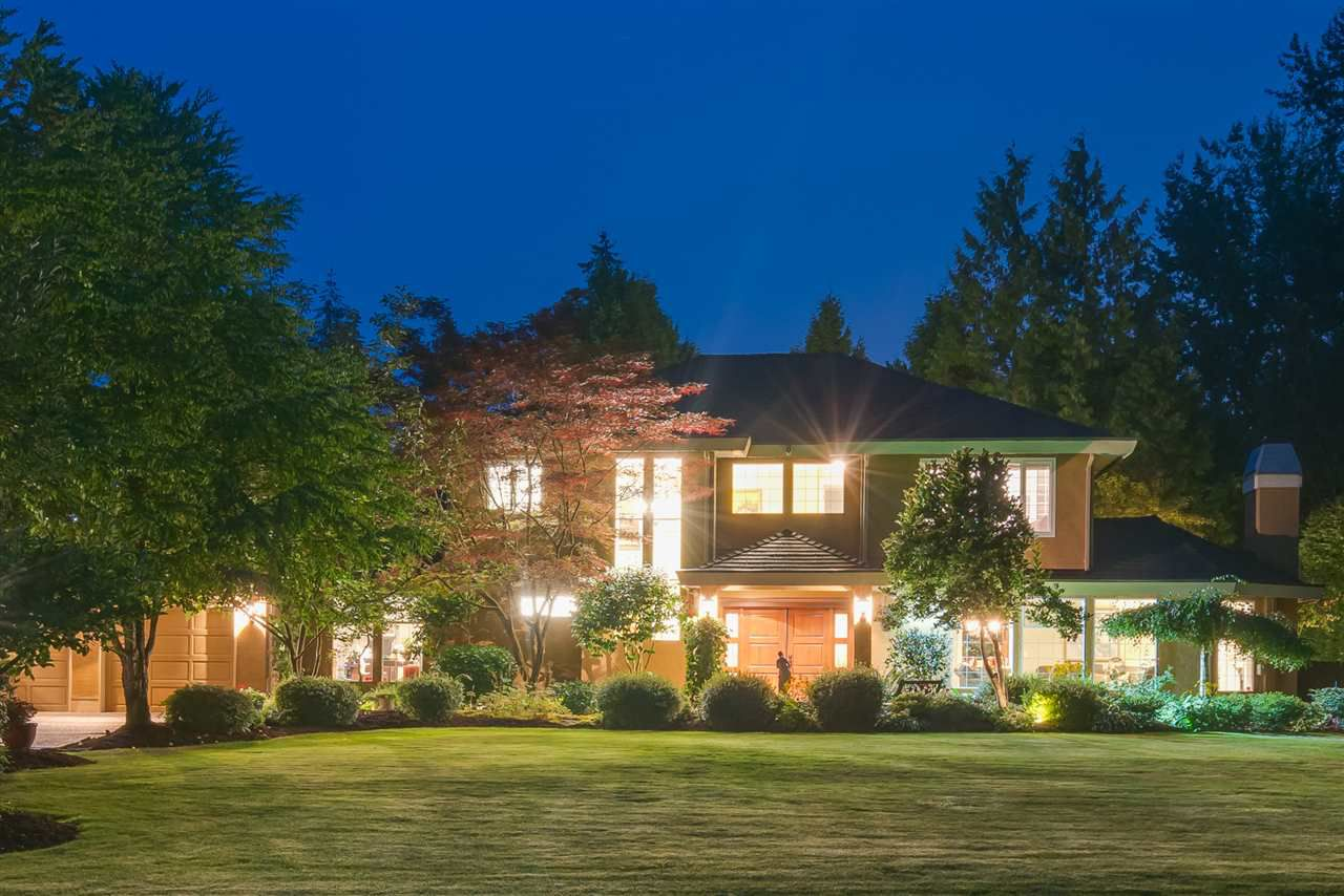 "Main Photo: 17890 21 Avenue in Surrey: Hazelmere House for sale in ""REDWOOD PARK"" (South Surrey White Rock)  : MLS®# R2350580"